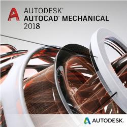 Autodesk AutoCAD Mechanical 2018 Commercial, 1 an, 1 user, SPZD (206J1-WW1751-T362)