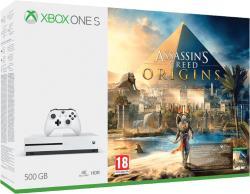 Microsoft Xbox One S 500GB + Assassin's Creed Origins