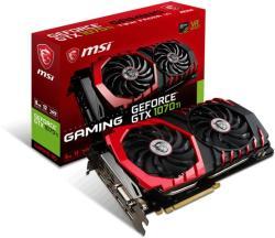 MSI GeForce GTX 1070 Ti 8GB GDDR5 256bit PCIe (GTX 1070 Ti GAMING 8G)