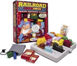 ThinkFun Railroad Rush Hour - Csúcsforgalom a pályaudvaron