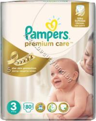 Pampers Пелени Pampers Premium Care Midi, 80-Pack, p/n PA-0201913 - Пелени за еднократна употреба за бебета с тегло от 5 до 9 kg (PA-0201913)