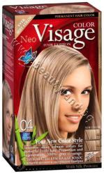 Боя за коса Visage Fashion Permanent Hair Color, 04 Light Blond, p/n VI-206004 - Трайна крем-боя за коса, светло руса (VI-206004)