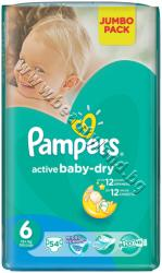 Pampers Пелени Pampers Active Baby Extra Large, 52-Pack, p/n PA-0201502 - Пелени за еднократна употреба за бебета с тегло от 13 до 18 kg (PA-0201502)