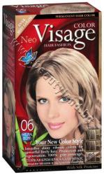 Боя за коса Visage Fashion Permanent Hair Color, 06 Natural Blonde, p/n VI-206006 - Трайна крем-боя за коса, натурално руса (VI-206006)