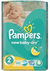 Pampers Пелени Pampers New Baby Mini, 80-Pack, p/n PA-0200428 - Пелени за еднократна употреба за бебета с тегло от 4 до 8 kg (PA-0200428)