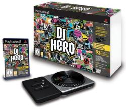 Activision DJ Hero [Turntable Bundle] (PS2)