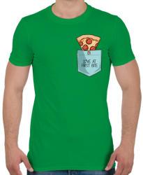 printfashion Szerelem első harapásra - Férfi póló - Zöld