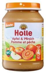 Holle Bio őszibarack-alma 4 hónapos kortól - 190g