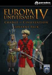 Paradox Interactive Europa Universalis IV Cradle of Civilization Content Pack DLC (PC)