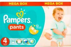 Pampers Pants 4 Maxi bugyipelenka (9-14kg) 104db