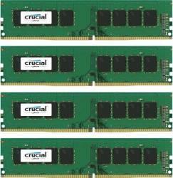 Crucial 16GB (4x4GB) DDR4 2400MHz CT4K4G4DFS824A