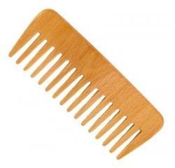 Forster's Natural Products Pieptene din lemn de fag pentru păr ondulat Forster's Natural Products