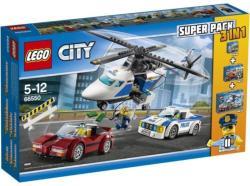 LEGO City - 3 az 1-ben rendőrségi készlet (66550)