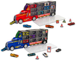 Globo Spidko - Autószállító kamion, kisautókkal