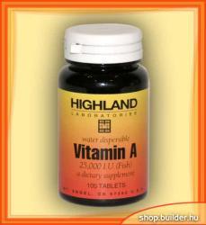 Highland Laboratories Vitamin A (100 tab. )