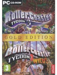Atari Rollercoaster Tycoon 3 [Gold Edition] (PC)