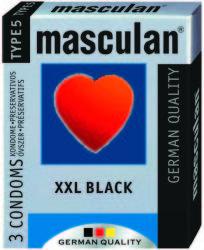 Masculan XXL fekete (3db)