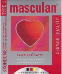 Masculan Sensitive (3db)