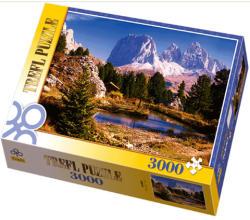 Trefl Tó a Dolomitoknál 3000 db-os (33012)