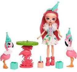 Mattel Enchantimals - Flamingo móka játékszett (FCG79/FCC62)