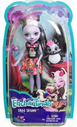 Mattel Enchantimals - Sage Skunk baba állatkával (DYC75/DVH87)