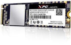 ADATA XPG SX6000 256GB M.2 PCIe ASX6000NP-256GT-C