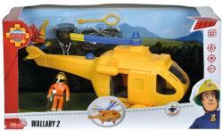 Simba Toys Sam, a tűzoltó - Wallaby 2 helikopter Tom figurával