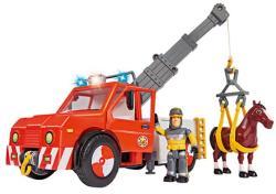 Simba Sam, a tűzoltó - Phoenix állatmentő autó ló figurával