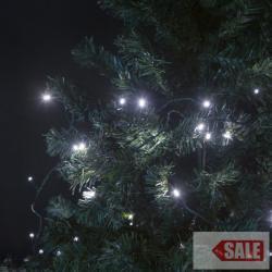 TA-Brand Napelemes 100 LED-es fényfüzér 11,4m (55211B)