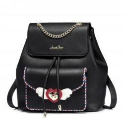 JUST STAR fekete hátizsák - Audrey