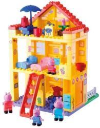 BIG PlayBIG BLOXX Peppa malac - Peppa háza építőszett (57078)