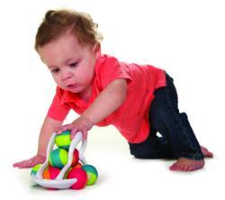 Fat Brain Toys Jucarie Distractiva Cu Bile Rollio - Fat Brain Toys (FBTFA106-1) - bekid