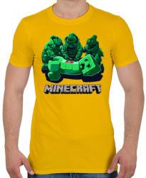 f84d3380d4 Vásárlás: printfashion Minecraft - Férfi póló - Sárga Férfi póló ...