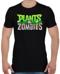 printfashion Plants vs. Zombies - Férfi póló - Fekete