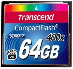 Transcend Compact Flash 64GB 400X (CF) TS64GCF400