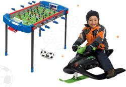Smoby Set masă de fotbal Challenger Smoby şi sanie Wild Spidder cu tălpi pentru alunecare şi amortizor (SM620200-4)
