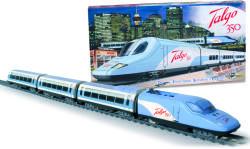Pequetren Trenulet electric calatori Talgo 350