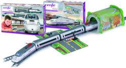 Pequetren Trenulet electric calatori RENFE Alvia S-130