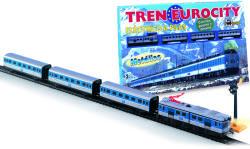 Pequetren Set trenulet electric calatori Eurocity