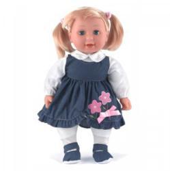 Dolls World Emma puha fésülhető baba - 41 cm