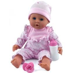 Dolls World Little Treasure babzsákos baba, mintás - 38 cm