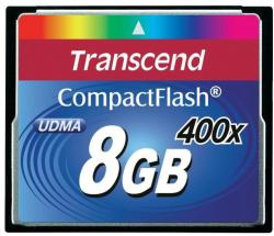 Transcend CompactFlash 8GB 400X (CF) TS8GCF400