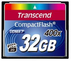 Transcend CompactFlash 32GB 400x TS32GCF400