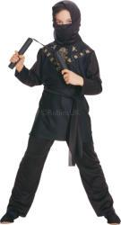 Rubies Black Ninja 881037 Costum bal mascat