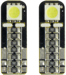 Carpoint Bec Led - 1SMD 12V pozitie T10 W2, 1x9, 5d Canbus 2buc Carpoint - Alb dispersat