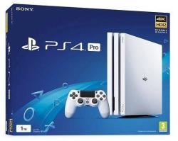 Sony PlayStation 4 Pro Glacier White 1TB (PS4 Pro 1TB)
