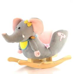 Eurobaby Balansoar cu Sunete - Elefant EB715