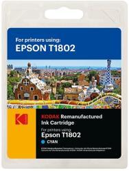 Kodak Cartus original kodak t1802 compatibil epson, 12ml, cyan, premium kodak Digital Media (ALBZ-2457)