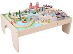 Bigjigs Toys Masuta cu trenuletul orasului (97983)