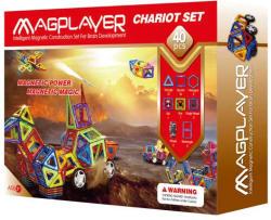 Magplayer Joc de Constructie Magnetic 40 Piese MPB-40